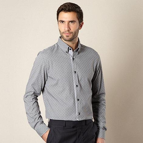 Jeff Banks - Designer black gingham shirt