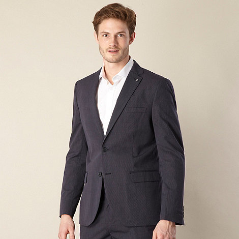 Jeff Banks - Designer navy pinstriped blazer