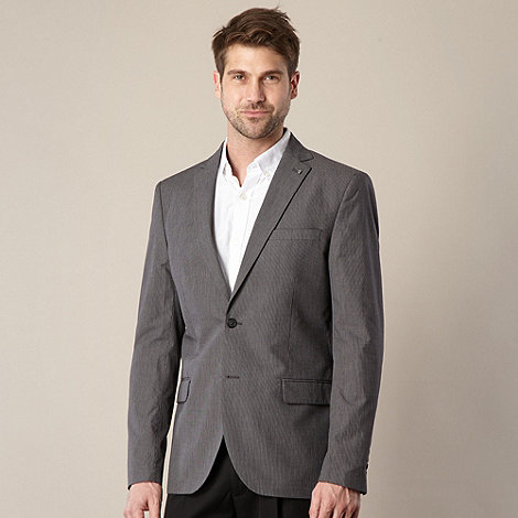 Jeff Banks - Designer grey fine stripe jacket