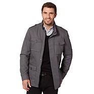 Jeff Banks Designer grey jacket - Was £110.00  Now £44.00