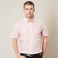 Jeff Banks - Designer light pink linen blend shirt