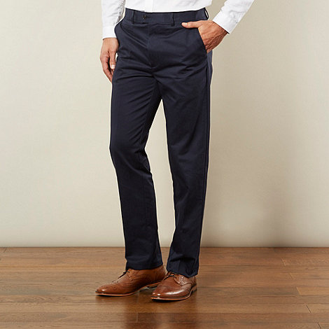 Jeff Banks - Designer navy chino trousers