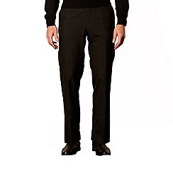 Jeff Banks - Designer black plain trousers
