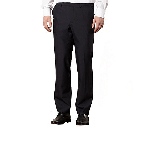 Jeff Banks - Designer navy wool blend trousers