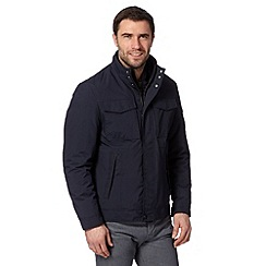 Jeff Banks - Designer navy harrington jacket