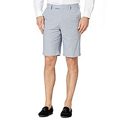 Jeff Banks - Designer blue cotton check shorts