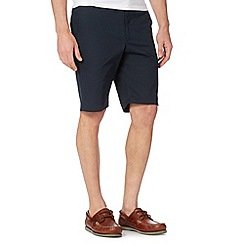 Jeff Banks - Designer navy chino shorts