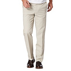 Jeff Banks - Designer natural zip fly chinos