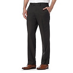 Jeff Banks - Designer brown straight fit trousers
