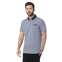 Jeff Banks - Designer blue polo shirt