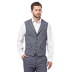 Jeff Banks - Grey herringbone waistcoat