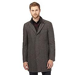 Jeff Banks - Grey 2-in1 wool blend coat