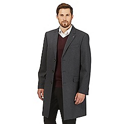 Jeff Banks - Black buttoned overcoat
