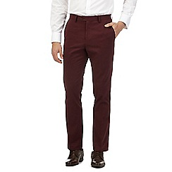Jeff Banks - Big and tall wine twill chinos