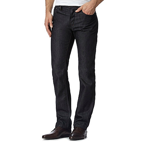 Jeff Banks - Dark blue straight fit jeans