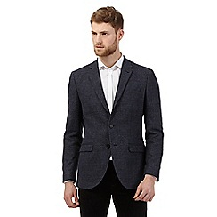 Jeff Banks - Blue wool blend blazer
