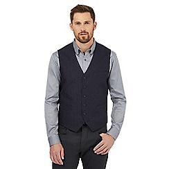 Jeff Banks - Navy pure linen waistcoat