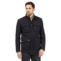 Jeff Banks - Big and tall navy lightweight jacket