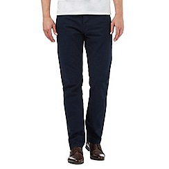 Jeff Banks - Navy textured trousers