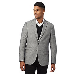 Jeff Banks - Big and tall grey wool blend suit jacketá