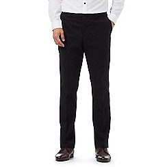 Jeff Banks - Black straight leg smart chinos