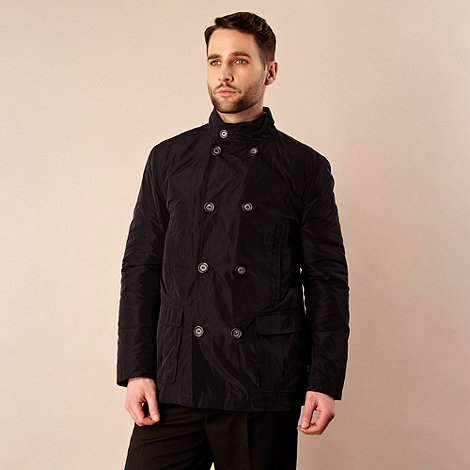 Jeff Banks - Designer blue lightweight peacoat