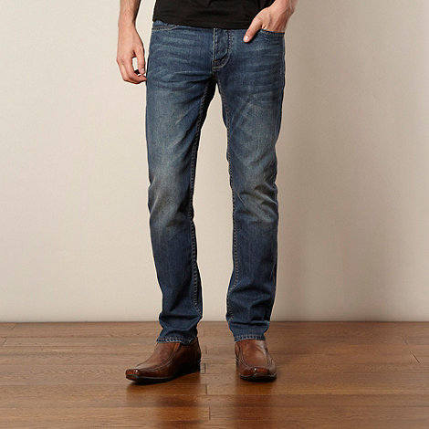 Jeff Banks - Designer blue narrow fit jeans