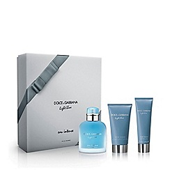 Dolce&Gabbana - 'Light Blue Pour Homme' intense trio gift set