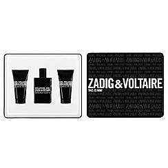 Zadig & Voltaire - 'This is Him!' eau de toilette 50ml gift set