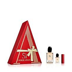 ARMANI - 'Luxury Si' eau de parfum gift set