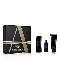 ARMANI - 'Code' eau de toilette Christmas gift set