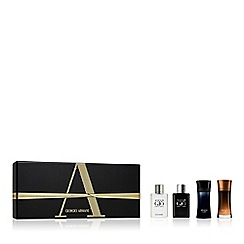 ARMANI - 'Luxury' miniature aftershave gift set
