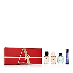 ARMANI - 'Luxury' miniature perfume gift set