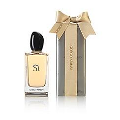 ARMANI - 'Si' pre wrapped eau de parfum
