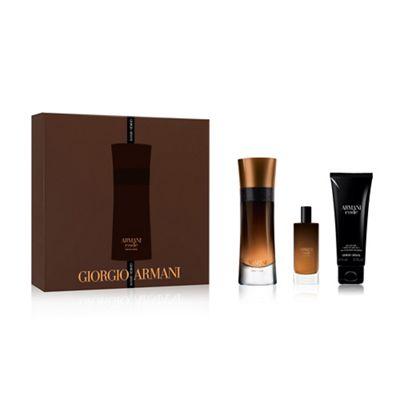 30d03e3cf1 Giorgio Armani Armani Code Profumo Coffret: Eau De Parfum Spray 60ML / 2oz  + Eau De Parfum Spray 15ML / 0.5oz + All Over Body Shampoo 75ML / 2.5oz