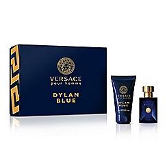 Versace - 'Dylan Blue' eau de toilette 30ml Christmas gift set