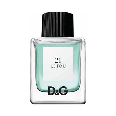 Dolce&Gabbana D&G 21 Le Fou 50ml Eau De Toilette