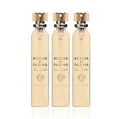 ACQUA DI PARMA - 'Iris Nobile' leather purse eau de parfum refills