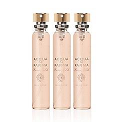 ACQUA DI PARMA - 'Rosa Nobile' leather purse eau de parfum refills