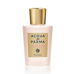 ACQUA DI PARMA - 'Rosa Nobile' shower gel 200ml