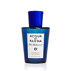 ACQUA DI PARMA - 'Arancia Di Capri' relaxing shower gel 200ml