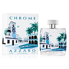 Azzaro - Chrome Travel Eau De Toilette 100ml