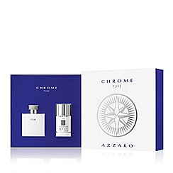 Azzaro - 'Chrome Pure' eau de toilette Christmas gift set