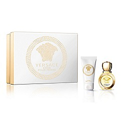 Versace - 'Eros Pour Femme' eau de toilette 30ml Christmas gift set