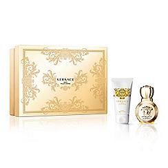 Versace - 'Eros Pour Femme' eau de parfum 30ml Christmas gift set