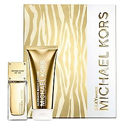 Michael Kors - Michael Kors Sexy Amber 50ml Eau de Parfum gift set worth  £81.30