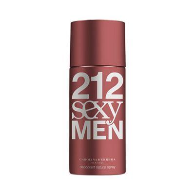 Carolina Herrera 212 Sexy Men Deodorant Spray 150ml - 100ML A/SH. -