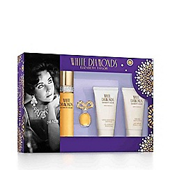 White Diamonds - 'Elizabeth Taylor' eau de toilette Christmas gift set