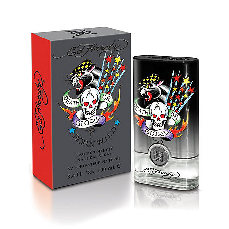 Ed Hardy - Born Wild Man Eau De Toilette 100ml