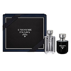 Prada - 'L'Homme' eau de toilette 50ml Christmas gift set